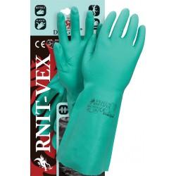 Rękawice ochronne kauczuk nitrylowy DRAGON RNIT-VEX Z r. 7 - 10