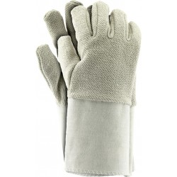 Rękawice ochronne frotte mankiet REIS RFROTM BE r. 10.5