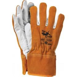 Rękawice ochronne ocieplane skóra bydlęca RLCS++WINTER PW r. 11