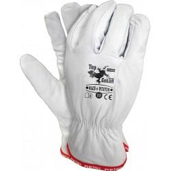 Rękawice ochronne ocieplane skóra kozia RLCS+WINTER W r. 11