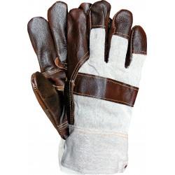Rękawice ochronne ocieplane skóra bydlęca RLO BECK r. 11