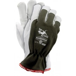 Rękawice ochronne ocieplane z koziej skóry RLTOPER-WINTER OW r. 8 - 11