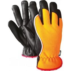 Rękawice ochronne ocieplane skóra Microthan RMC-WINMICROS PB r. 10