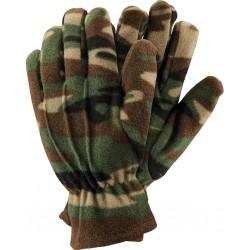 Rękawice ochronne ocieplane wykonane z polaru RPOLAR-MORO MO r. 10