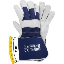 Rękawice ochronne wzmacniane skórą bydlęcą R-LONGER GW r. L, XL