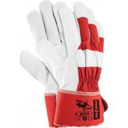 Rękawice ochronne ze skóry koziej RHIPPER CW r. 10