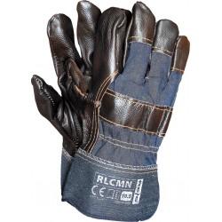 Rękawice ochronne wzmacniane RLCMN NCK r. 10 budowlane