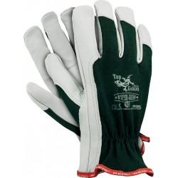Rękawice ochronne REIS TOPGEKON RLTOPER-GREEN r. 7 - 10 dla kierowców