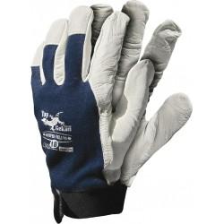 Rękawice ochronne RLTOPER-VELCRO wykonane ze skóry koziej r. 7 - 10