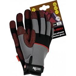 Rękawice ochronne REIS Mechanics Gloves RMC-AQUILA SBC r. L