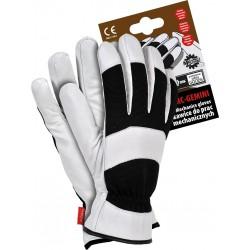 Rękawice ochronne RMC-GEMINI BW ocieplane tkaniną Thinsulate c40 r. L