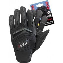 Rękawice ochronne do prac mechanicznych RMC-IMPACT CB r. M -XL