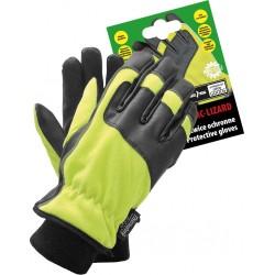 Rękawice ochronne ocieplane polarem RMC-LIZARD YB r. L