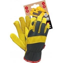 Rękawiczki ochronne REIS Mechanics Gloves RMC-SPECTRO. Rękawiczki dostępne w rozmiarach 7,8,9 i 10.