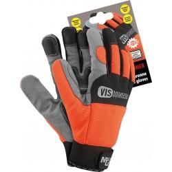 Rękawiczki ochronne REIS RMC-VISIONER PBS