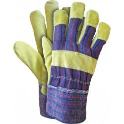 Rękawice budowlane robocze skóra bydlęca RSC MC r. 10