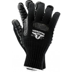 Rękawice ochronne antywibracyjne VIBRATON B r. 9 - 10