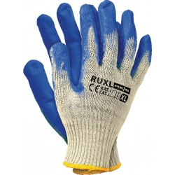 Rękawice ochronne powlekane gumą Wampirki REIS RUXL WN r. XL