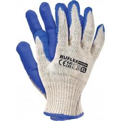 Rękawice ochronne podwójnie powlekane gumą Wampirki REIS RUFLEX WN r. XL