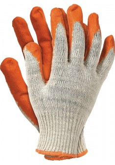 Rękawice ochronne powlekane gumą Wampirki REIS RU P r. 10