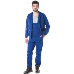Komplet ubranie robocze bluza + spodnie niebieskie r. 46 - 62