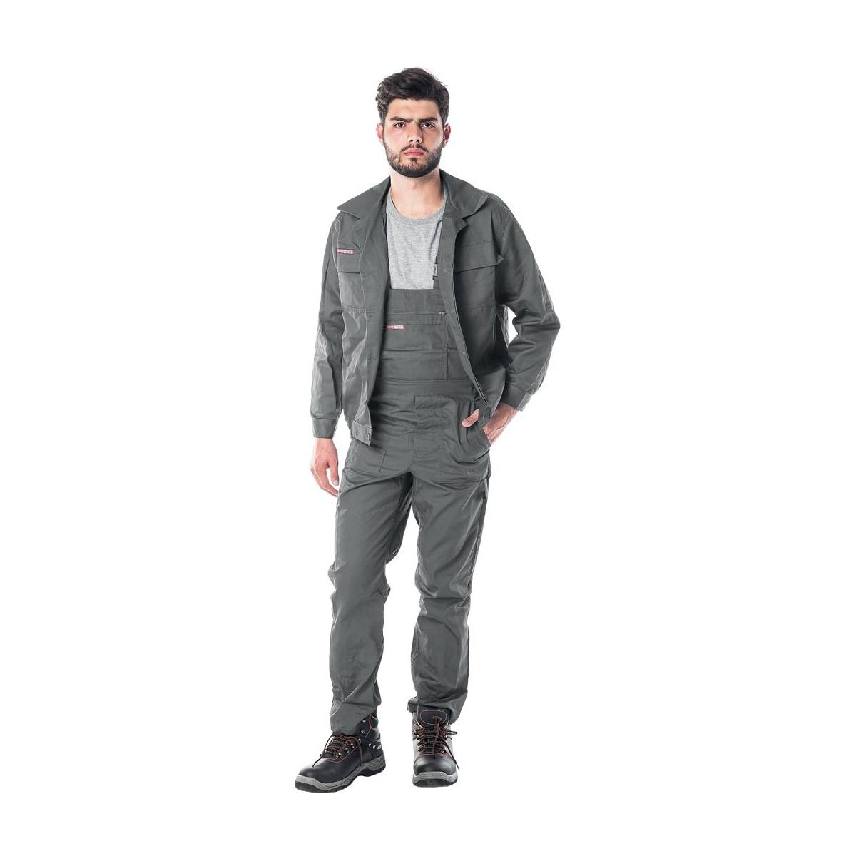 Komplet ubranie robocze bluza + spodnie szare UMS r. 46 - 62