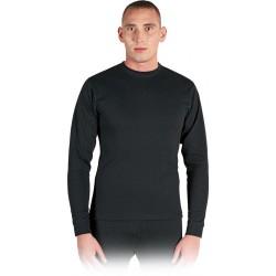 Koszulka zimowa z długim rękawem czarna REIS UU B r. M - 3XL