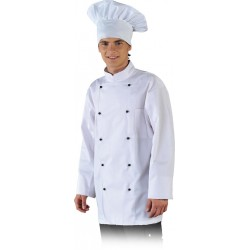 Bluza kucharska z linii Chef's Kitchen LH-CHEFER W biała r. S - 3XL