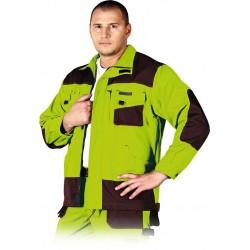 Bluza ochronna Formen LHFMNJ LBR limonkowo-brązowa r. S - 3XL