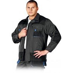 Bluza ochronna Formen LHFMNJ SBN stalowo-czarna-niebieska r. S - 3XL
