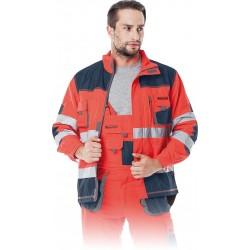 Bluza ochronna Formen LH-FMNX-J CGS czerwono-granatowo-szara r. S - 3XL