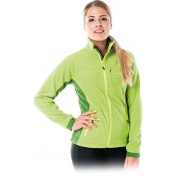 Bluza polarowa damska Leber Hollman LH-LADYFLY Z zielona r. S - 3XL