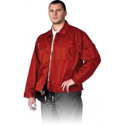 Bluza robocza Leber Hollman LH-WILSTER C czerwona r. M - 3XL