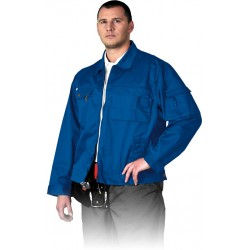 Bluza robocza Leber Hollman LH-WILSTER N niebieska r. M - 3XL