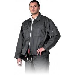 Bluza robocza Leber Hollman LH-WILSTER S szara r. M - 3XL