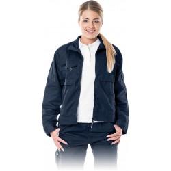 Bluza ochronna damska Leber & Hollman LH-WOMWILER granatowa r. S - 2XL