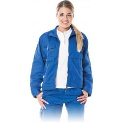 Bluza ochronna damska Leber & Hollman LH-WOMWILER niebieska r. S - 2XL