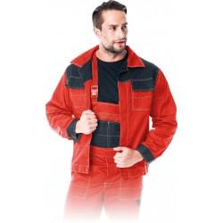 Bluza ochronna Multi Master Reis MMB czerwono-czarna r. M - 3XL