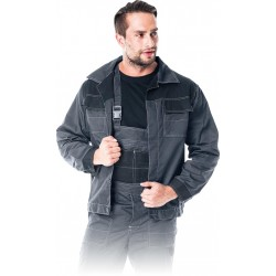 Bluza ochronna Multi Master Reis MMB szaro-czarna r. M - 3XL