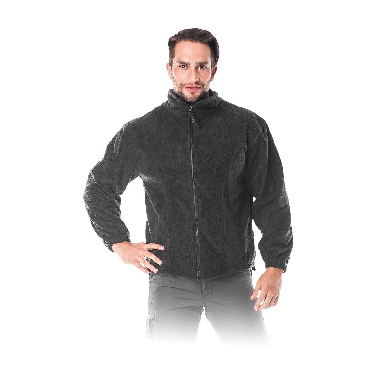 Bluza polarowa REIS POLAR-ROCKER czarna r. M - 3XL