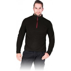 Bluza polarowa męska REIS POLMENKS czarna r. M - 3XL
