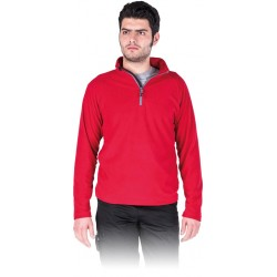 Bluza polarowa męska REIS POLMENKS czerwona r. M - 3XL