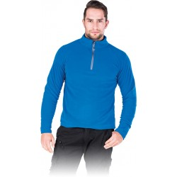 Bluza polarowa męska REIS POLMENKS niebieska r. M - 3XL