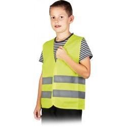 Kamizelka ostrzegawcza żółta dla dzieci KOS-KIDS r. XS- S