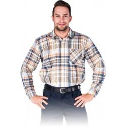 Koszula flanelowa kratka 100% bawełna REIS KF-GBEP r. M - 3XL