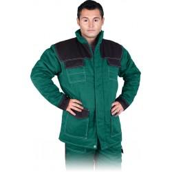 Kurtka ochronna ocieplana REIS Multi Master MMWJL zielono-czarna r. M - 3XL