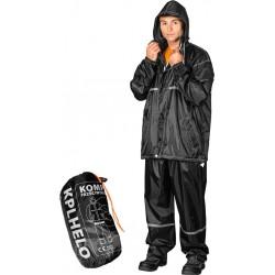 Komplet przeciwdeszczowy spodnie + kurtka REIS KPLHELO czarny r. M - 3XL