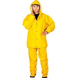 Komplet ochronny przeciwdeszczowy REIS KPLPU żółty r. M - 3XL