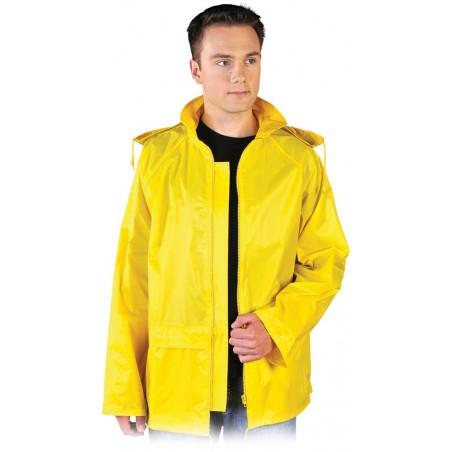 Kurtka ochronna przeciwdeszczowa żółta KPNP Y r. M - 3XL