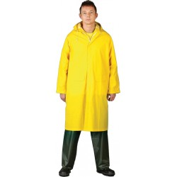 Płaszcz ochronny przeciwdeszczowy REIS PPD żółty r. L - 3XL